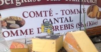 Martinsmarkt mit französischen Spezialitäten und Feuerwerk