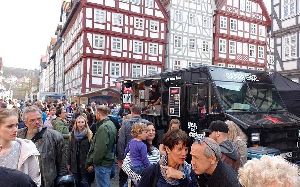 Frühlings- und Street-Food-Festival